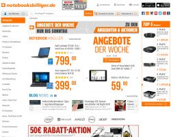 Zum Notebooksbilliger.de Online Shop