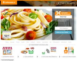 Zum Lieferando Online Shop