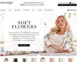 Zum Orsay Online Shop