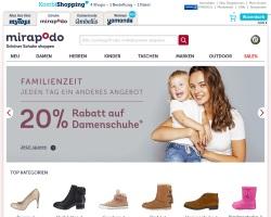 Zum Mirapodo Online Shop