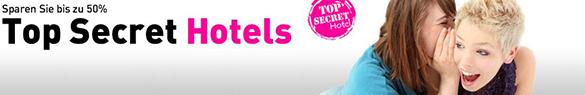 lastminute.de Top Secret Hotels