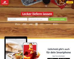 Zum Lieferheld Online Shop