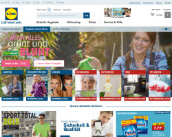 Zum Lidl Online Shop