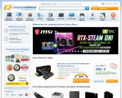 Zum Computeruniverse Online Shop