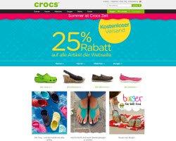 Zum Crocs Online Shop
