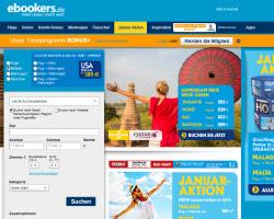 Zur ebookers Webseite