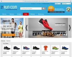 Zum 21run Online Shop