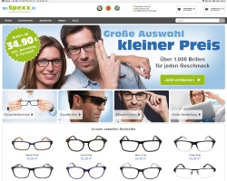 Zum my-Spexx Online Shop