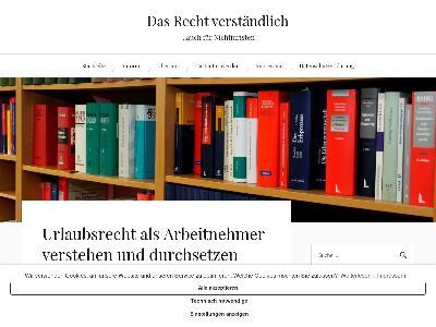 https://www.rechtverstaendlich.info/