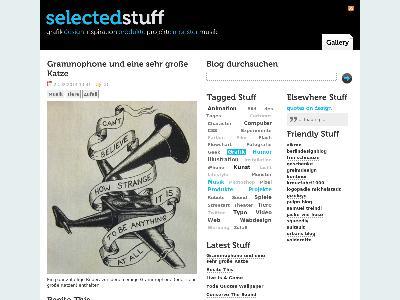 http://www.selected-stuff.de