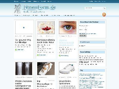 http://www.fitnessform.de
