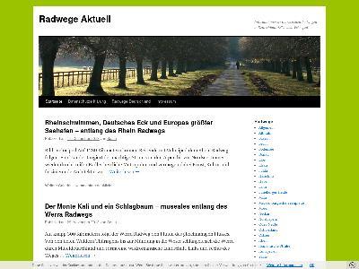 http://radwege-aktuell.de