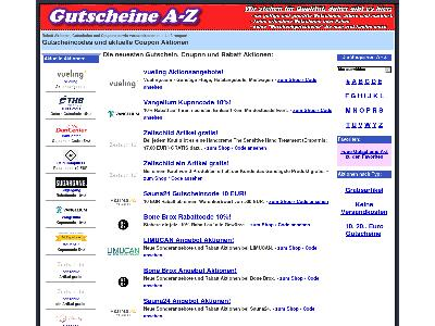 http://www.gutscheine-a-z.de