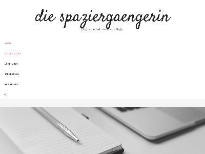 http://www.diespaziergaengerin.com