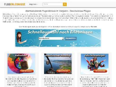 http://www.flugerlebnisse.com
