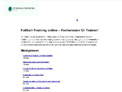 http://www.trainerblog.fussball-training.org