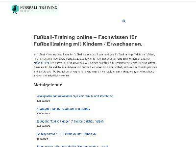 http://www.trainerblog.fussball-training.org