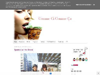 http://commecicommecaddorf.blogspot.com/