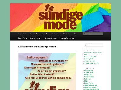http://blog.suendige-mode.de/