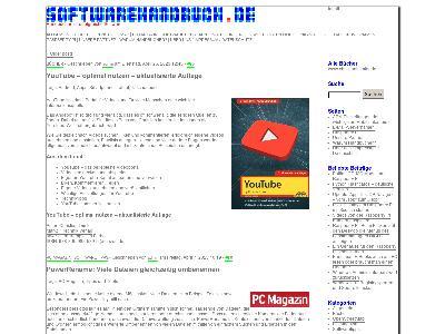 http://www.softwarehandbuch.de