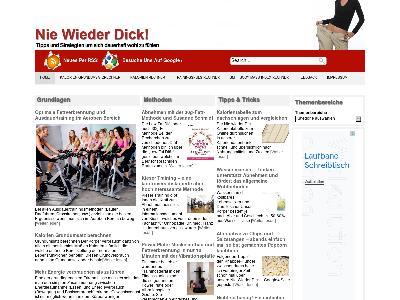 http://www.nie-wieder-dick.de/