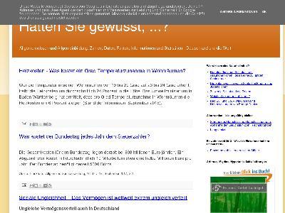 http://haetten-sie-gewusst.blogspot.com/