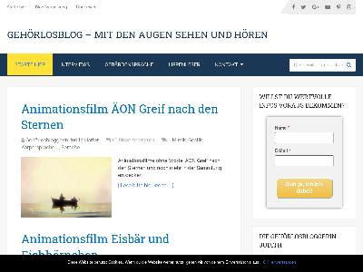 http://www.gehoerlosblog.de/