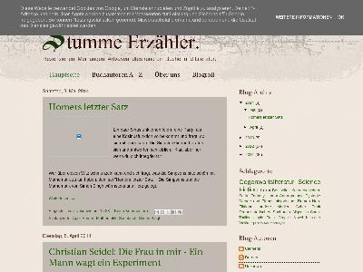 http://stumme-erzaehler.blogspot.com/