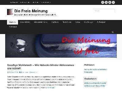 https://www.diefreiemeinung.de