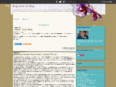 http://kirsis-blog.over-blog.de