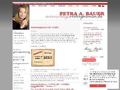 http://autorenblog.writingwoman.de/