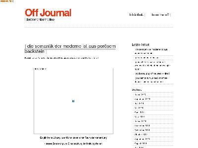 http://www.offjournal.de