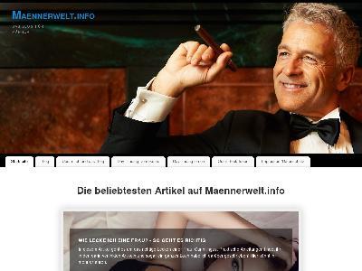 http://www.maennerwelt.info