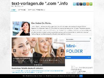 http://text-vorlagen.de