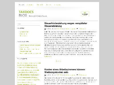 http://taxdocs.de