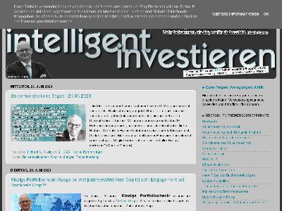 http://www.intelligent-investieren.net/
