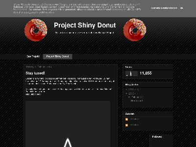 http://projectshinydonut.blogspot.com/