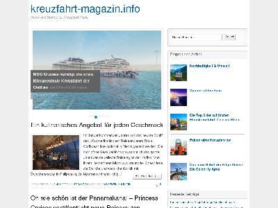 http://kreuzfahrt-magazin.info