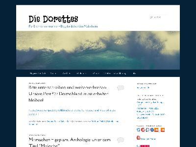 http://www.die-dorettes.de