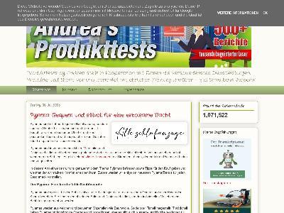 http://www.andreas-produkttests.de/