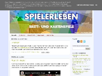 http://spielerleben.blogspot.com