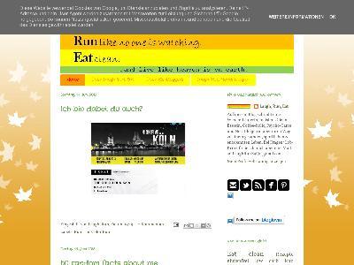 http://laughruneat.blogspot.com/