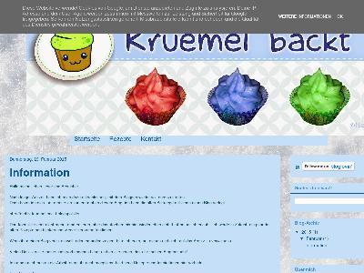 http://kruemel-backt.blogspot.com/