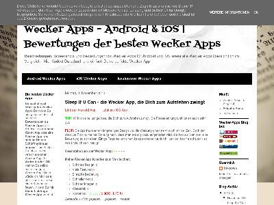 http://wecker-apps.blogspot.com/