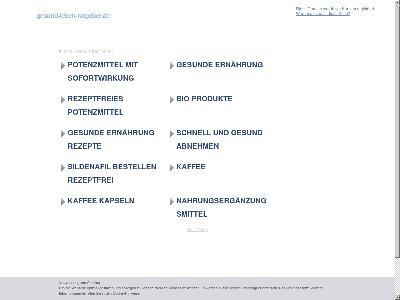 http://www.gesund-leben-ratgeber.de/