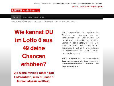 http://lottogeheimnisse.de/