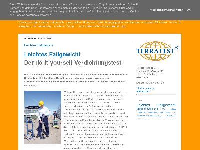 http://leichtes-fallgewicht.blogspot.com/