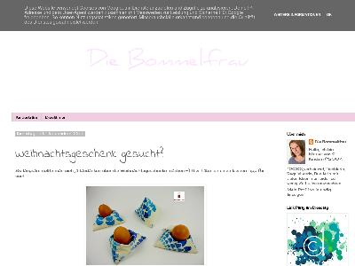 http://die-bommelfrau.blogspot.com/