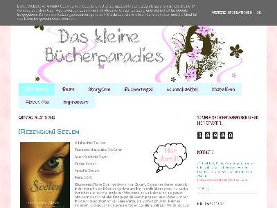 http://daskleinebuecherparadies.blogspot.com/