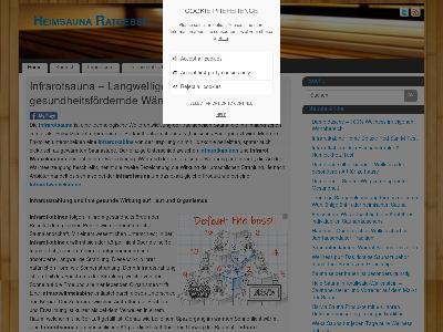 http://heimsauna-info.de/